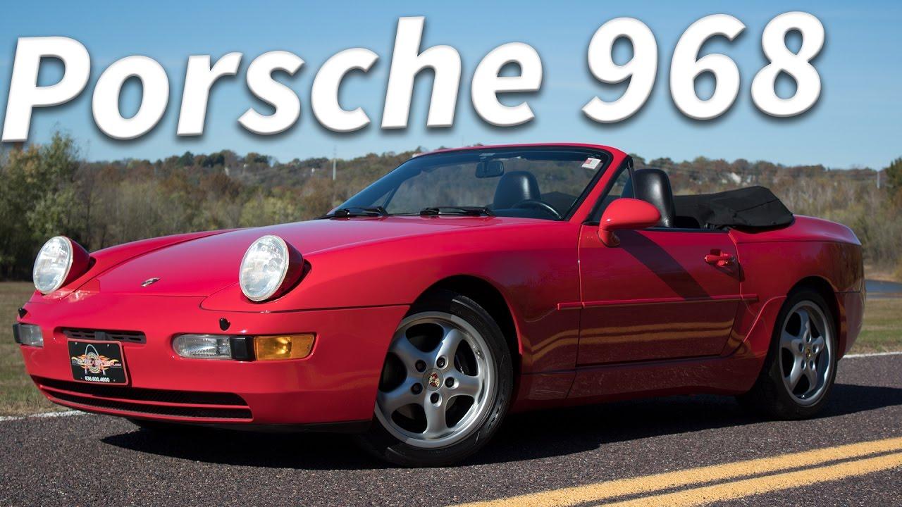 1994 Porsche 968 Cabriolet 6mt Full Tour Start Up