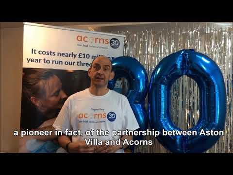 Toby Porter Thanks Paul Faulkner and Greater Birmingham Chambers of Commerce