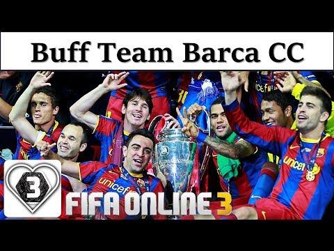 I Love FO3 | Xây Dựng Đội Hình Team Color BÀ XÃ BARCELONA CC Fifa Online 3: Gã Khổng Lồ Xứ Catalan