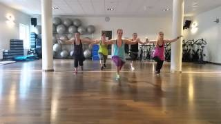 Natalie (Fitness dance) Baila mi tumbao - Salsa