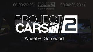Wheel vs. Gamepad Comparison   Project CARS 2