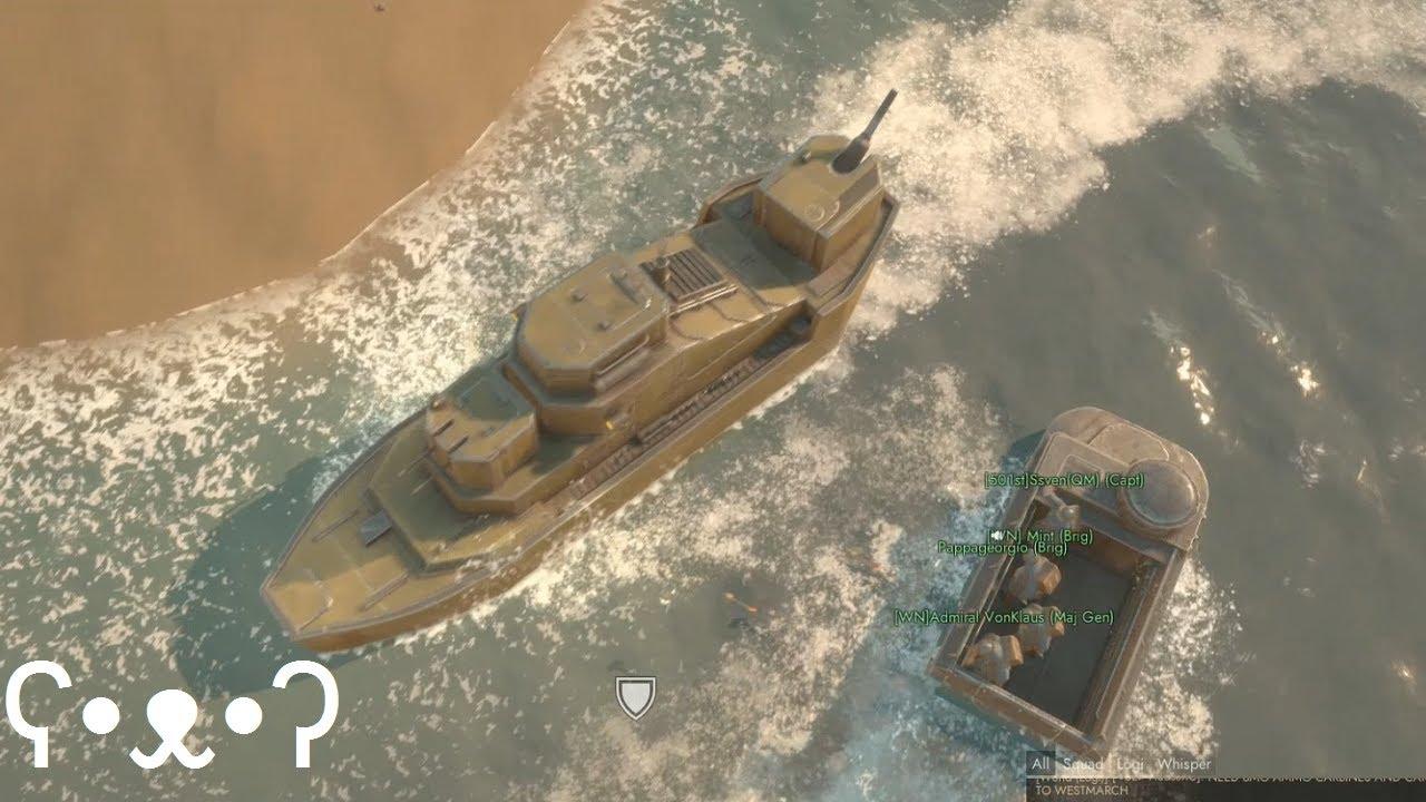 Stolen Guns & Sunken Gunboats - Foxhole