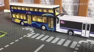 MTA Daron Alexander Dennis Enviro500 Double Decker Bus Toy