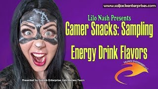Gamer Snacks: Sampling Energy Drink Flavors
