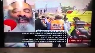 יהודי שנפצע בפיגוע בירושלים מביך את ערוץ 2 בשידור חי