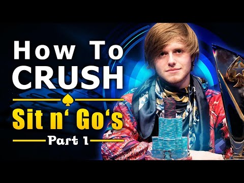 How To CRUSH Online Sit 'n' Go - A Free Peek Into Charlie's 1on1 Coaching Sessions - Part 1