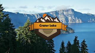 Crater Lake National Park Aerial Vacation