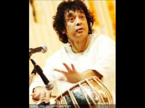 Ustad Zakir Hussain-Drut Teentaal Tabla Solo Part 1