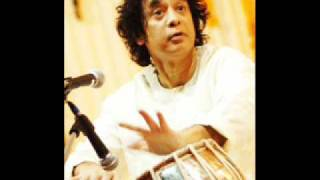 Ustad Zakir Hussain-Drut Teentaal Tabla Solo Part 1