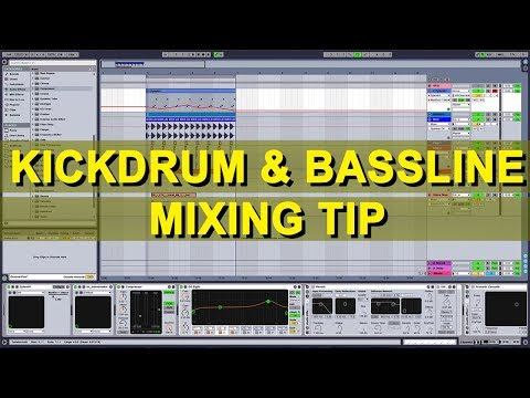 Kickdrum & Bassline Mixing Tip In Ableton Live 9