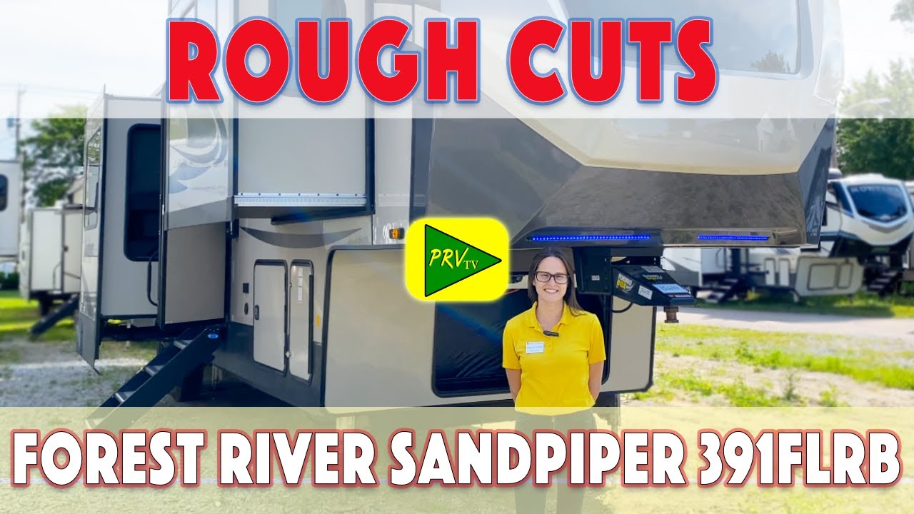 '21 Forest River Sandpiper 391FLRB   Pete's RV Walkthrough