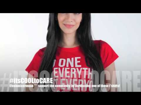 Volunteer in UAE - ITSCOOLTOCARE Awareness T-Shirt Campaign!