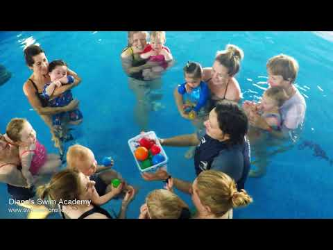 Baby Toddler and Parent Swimming class (with Diana's Swim Academy)