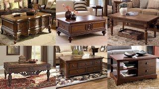 150 Wooden Center Coffee Tea Table Designs Youtube