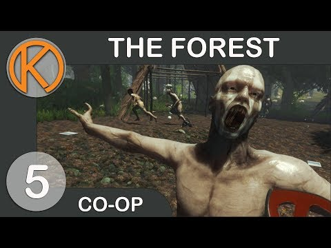 The Forest With Friends | DRYING MEATS - Ep. 5 | Let's Play The Forest Gameplay