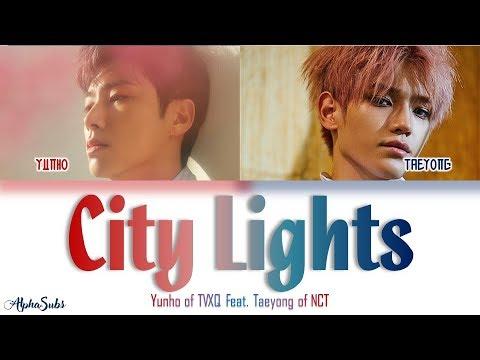 Yunho of TVXQ [동방신기] (Feat. TAEYONG of NCT) 夜話 (City Lights) Color Coded Lyrics/가사 [Han|Rom|Eng]
