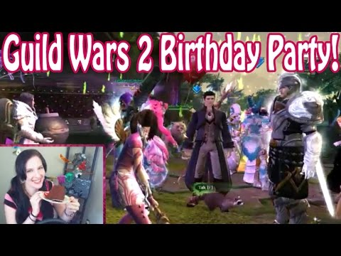 Guild Wars 2 Birthday Stream Highlights (featuring SUNRISE!)