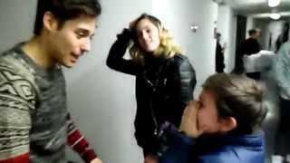 Mi aventura con el elenco de Violetta - ViolettaLive Backstage INEDITO
