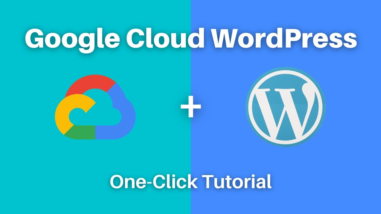 How to Setup WordPress on Google Cloud in One Click