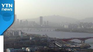 서울 등 전국 올봄 첫 황사...강한 바람에 최악 피했…