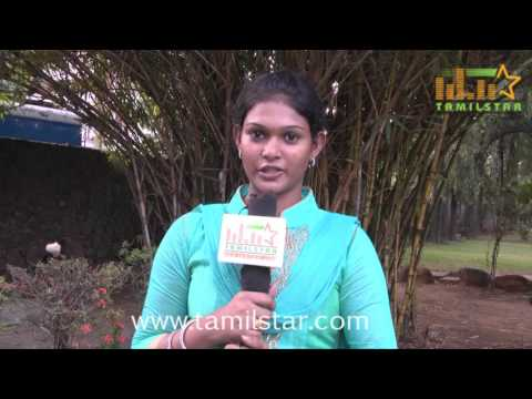 Nakshathra at Kidaa Poosari Magudi Movie Team Interview