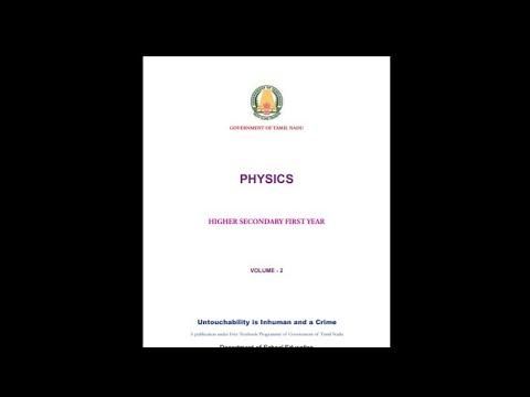12th Physics Book Volume 2 Tamil Medium