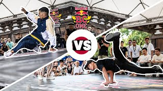 Red Bull BC One Cypher Japan 2018 | Semifinal: Steez vs. Shigekix