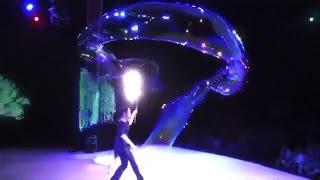 Шоу мыльные пузыри, интересное видео
