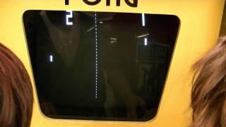 Original Pong Video Arcade Game - How Do Modern Kids Like It?
