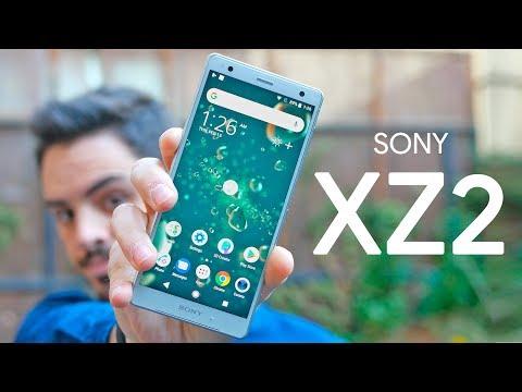 """XPERIA XZ2 de Sony, PROBAMOS su DISEÑO de pantalla """"SIN MARCOS""""!"""