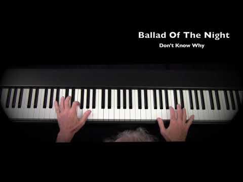 Dan Delaney plays RAVENSCROFT 275 Virtual PIANO  - Don't Know Why