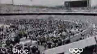 1968 Mexico Opening Ceremonies - Lighting of the Cauldron