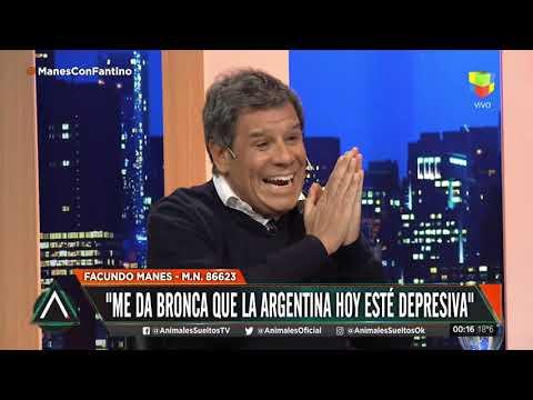 """Facundo Manes: """"La sociedad Argentina está depresiva"""""""