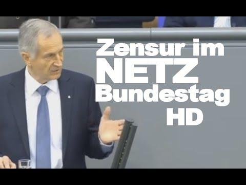 Bundestag : NetzDG  Zensur im Internet? EEG Aktuell HD afd