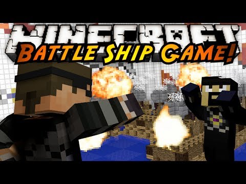 Minecraft Mini-Game : BATTLESHIP!