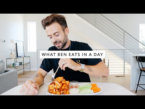 What My Husband Eats In A Day | Easy Veggie Meals