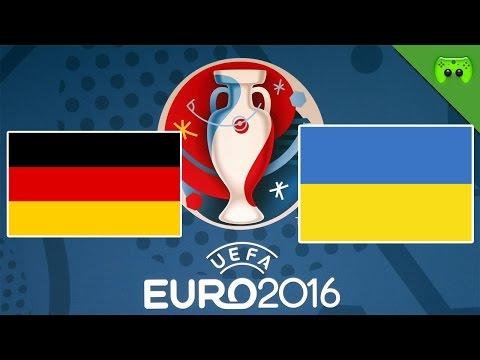 DEUTSCHLAND vs. UKRAINE 🎮 PES: EM Orakel 2016