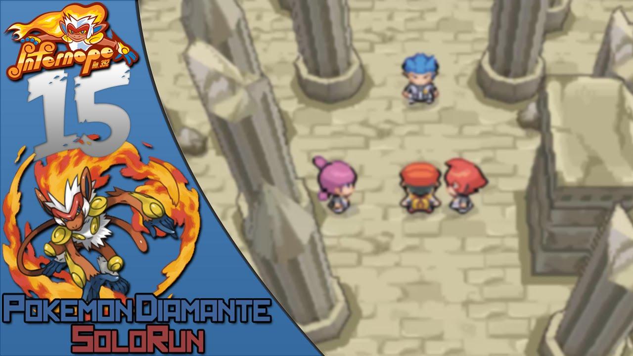 Pokemon Diamante Solorun 15 La Columna Lanza Youtube