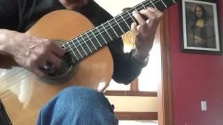 Nỗi nhớ mùa đông ,nhạc và lời Phú Quang Võ tá Hân soạn Thole played guitar