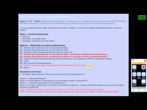 Entendendo CST / CSOSN x CFOP  Identificar tributação da mercadoria na NF-e