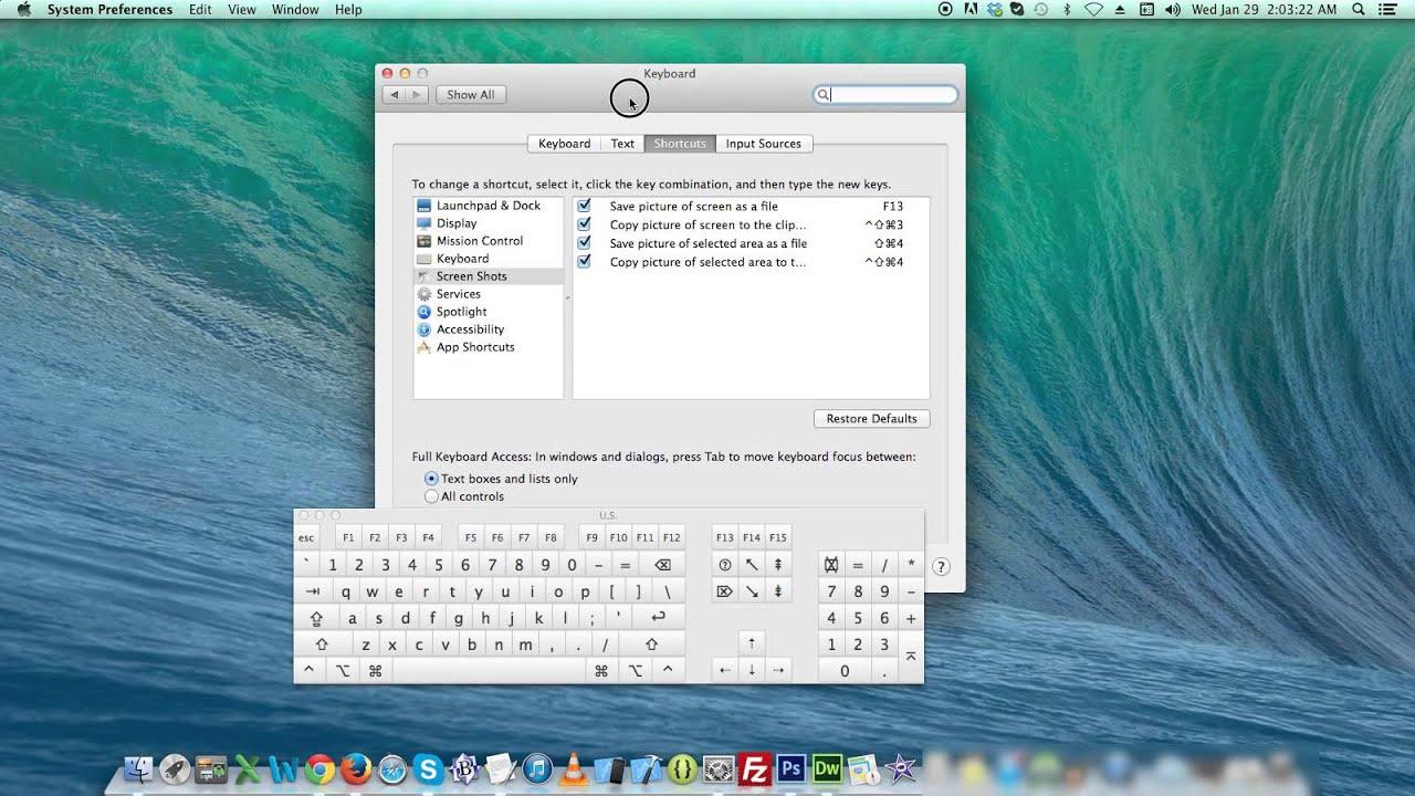 How To Change Keyboard Shortcut In Mac