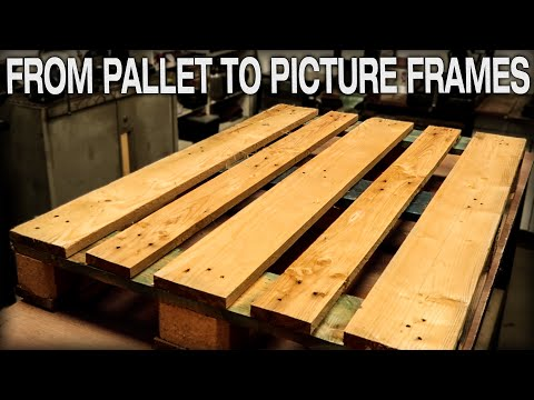 diy-pallet-wood-picture-frame