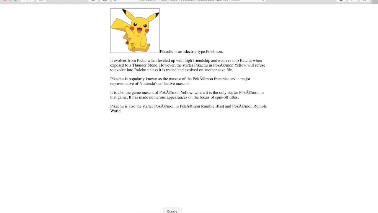 16 CSS Float Text wrap - YouTube