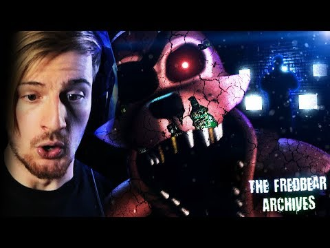 WHO THE FREAK IS THIS GUY!? || The Fredbear Archives (TRAPPED + SECRET ENDING)