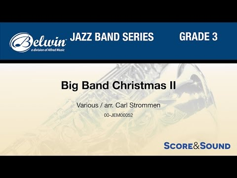 Big Band Christmas II, arr. Carl Strommen - Score & Sound
