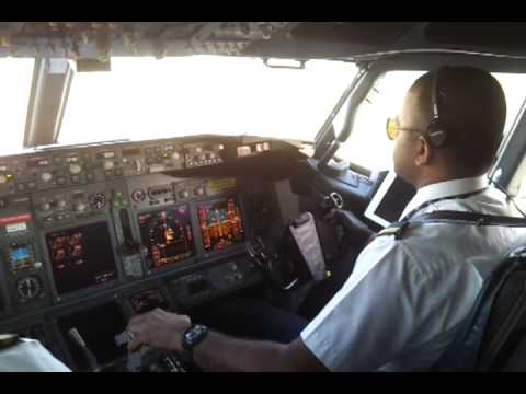 Landing at Jakarta as Pilot Flying 1