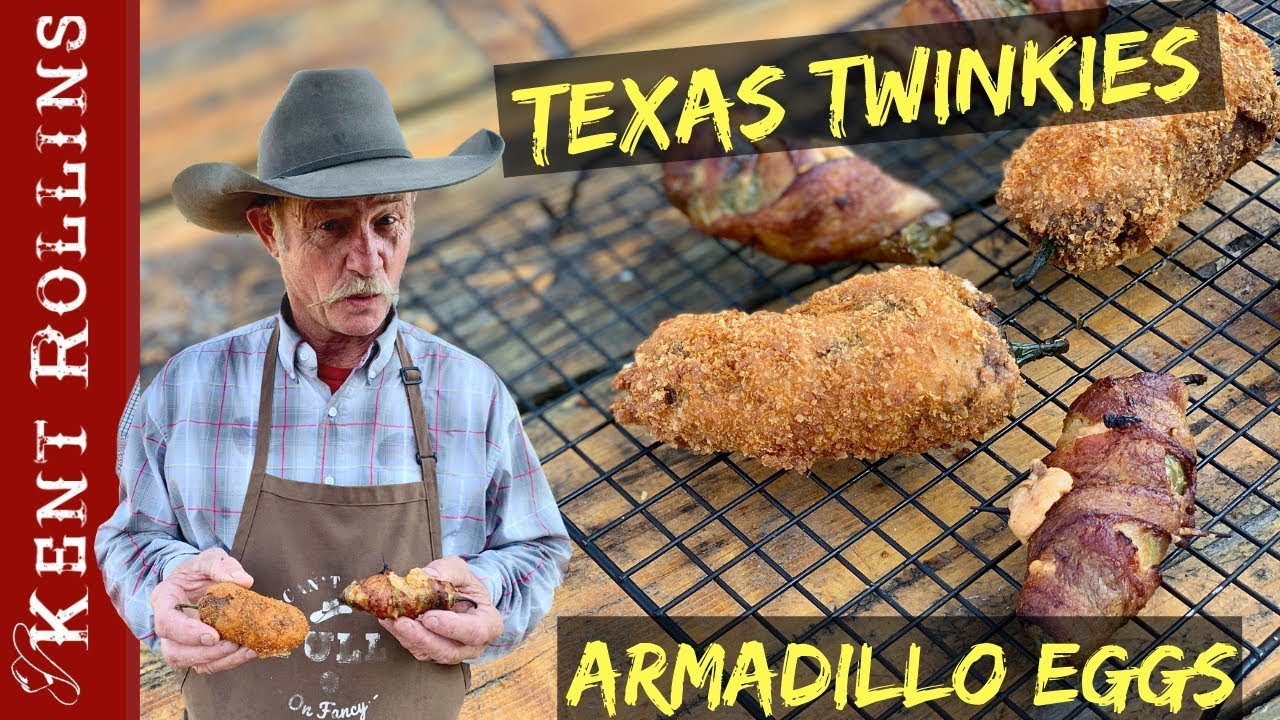 Jalapeno Poppers 2 Ways Texas Twinkies And Armadillo Eggs Youtube