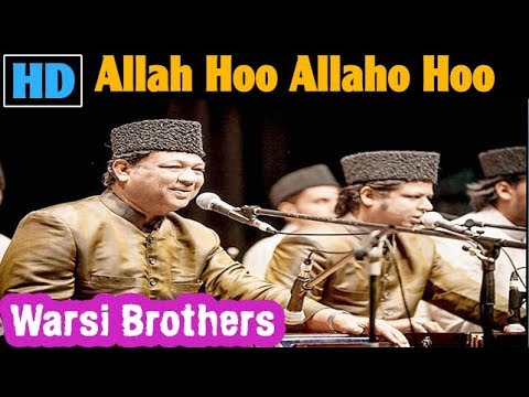 Allah Hoo Allah Hoo - Warsi Brothers | Sufi Qawwali