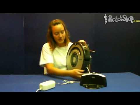 Roomba Battery (500 Series ) Reset Procedure by RobotShop.com