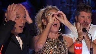 Неожиданая Реакций  на шоу Америка ищет Таланты Лучшее 2016 года